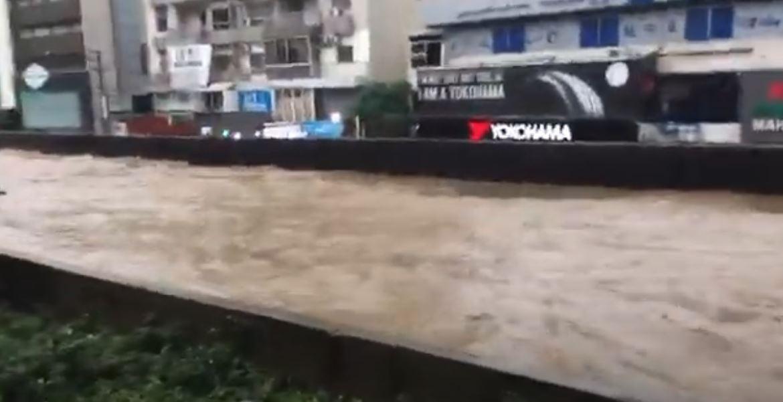غرق شوارع لبنان