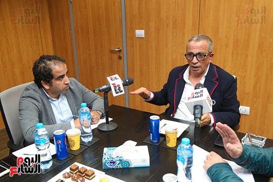 عمرو الجناينى فى زيارته لليوم السابع (11)