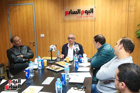 عمرو الجناينى فى زيارته لليوم السابع (12)