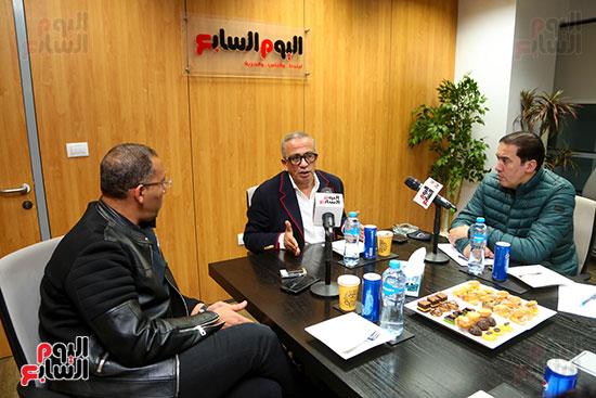 عمرو الجناينى فى زيارته لليوم السابع (4)