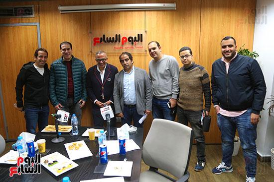 عمرو الجناينى فى زيارته لليوم السابع (15)