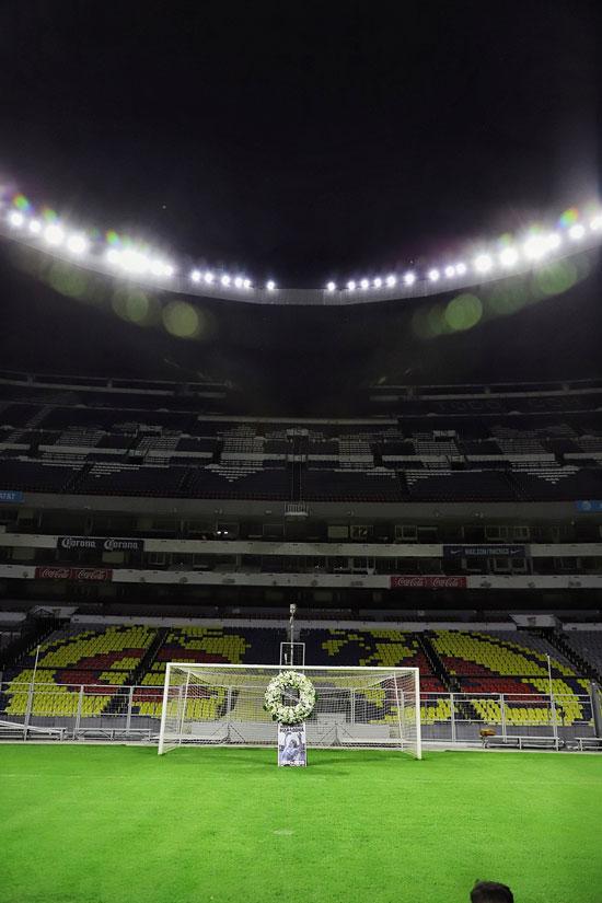 ملعب أزتيكا في مكسيكو سيتي