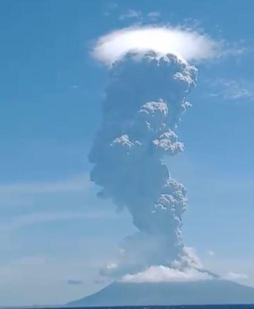 نشاط البركان