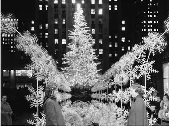 شجرة الكريسماس الفضية عام 1949