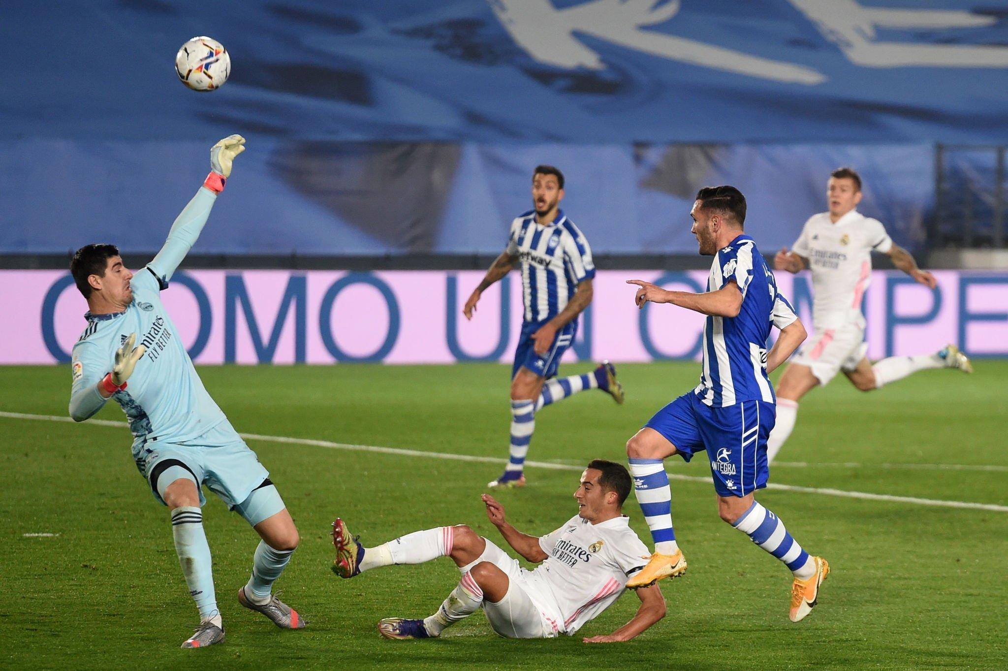 مباراة ريال مدريد والافيس