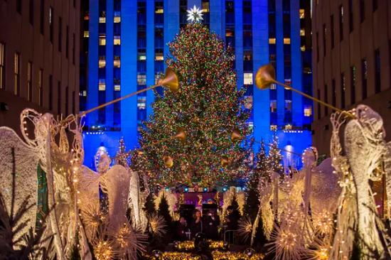 الشجرة الشهيرة في مانهاتن