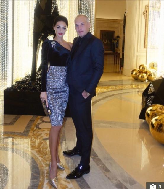 نيل بيليتش وزوجته