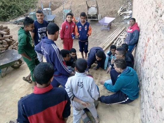 مشاركة اقباط القرية (2)