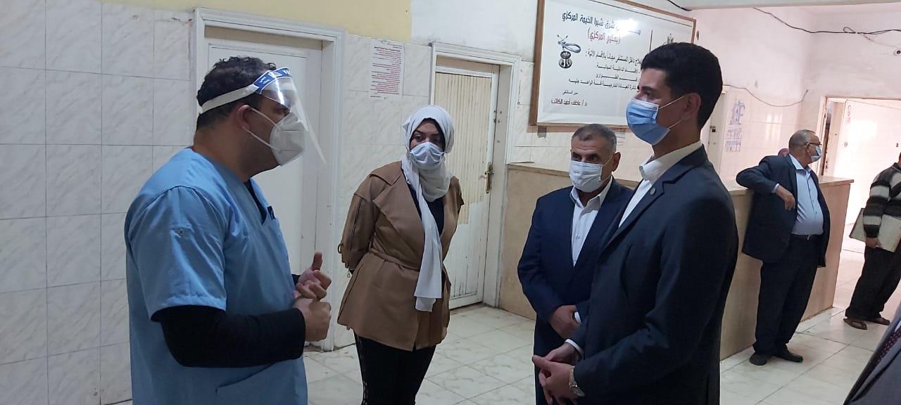 جولة نائبا محافظ القليوبية بالمستشفيات