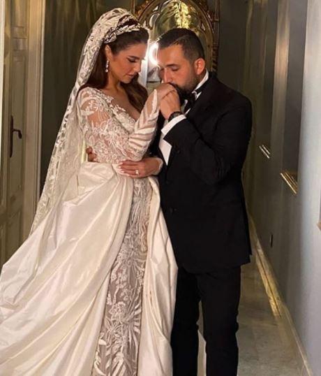 درة و زوجها هانى سعد