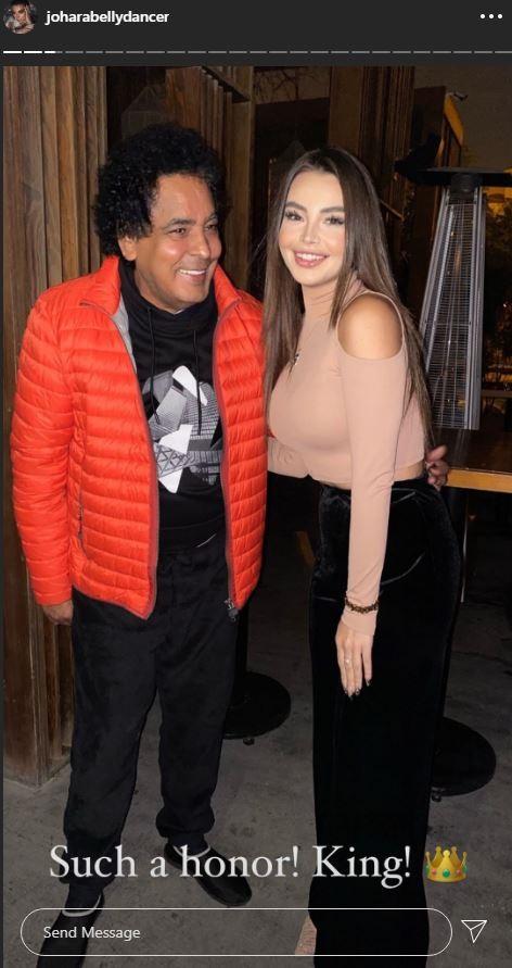 محمد منير يتألق في صورة جديدة مع جوهرة