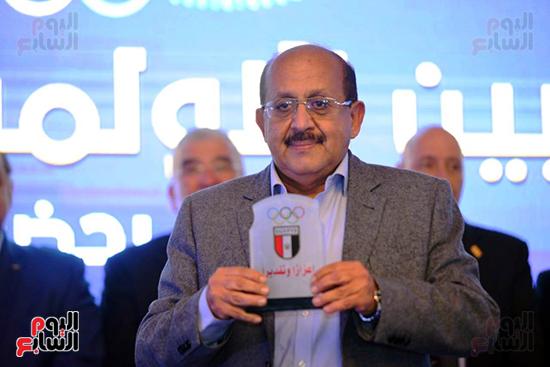 توزيع الجوائز للمنتدى الاول للاعبين الدولين والمصرين  (16)