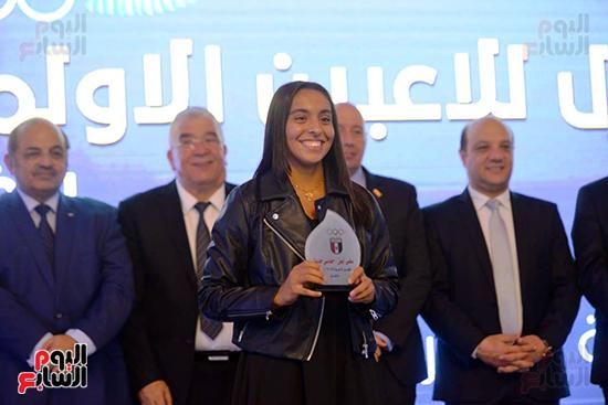 توزيع الجوائز للمنتدى الاول للاعبين الدولين والمصرين  (27)