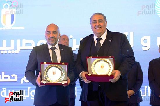توزيع الجوائز للمنتدى الاول للاعبين الدولين والمصرين  (9)