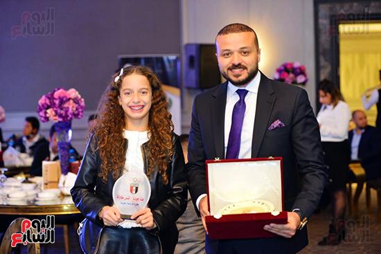 توزيع الجوائز للمنتدى الاول للاعبين الدولين والمصرين  (15)