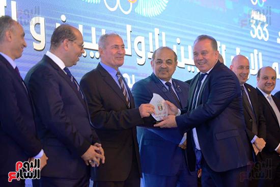 توزيع الجوائز للمنتدى الاول للاعبين الدولين والمصرين  (24)
