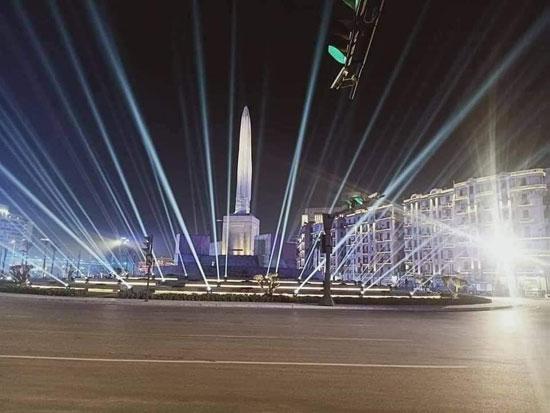 وسط ميدان التحرير