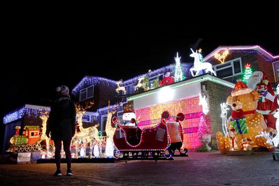 أنوار الكريسماس فى لندن