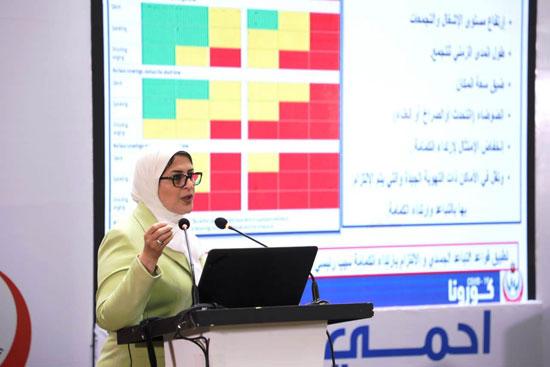 وزيرة-الصحة-تكشف-آخر-تطورات-كورونا-فى-مصر