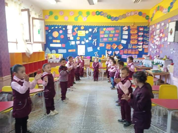 مدير إدارة يوسف الصديق التعليمية بالفيوم يتفقد المدارس (9)