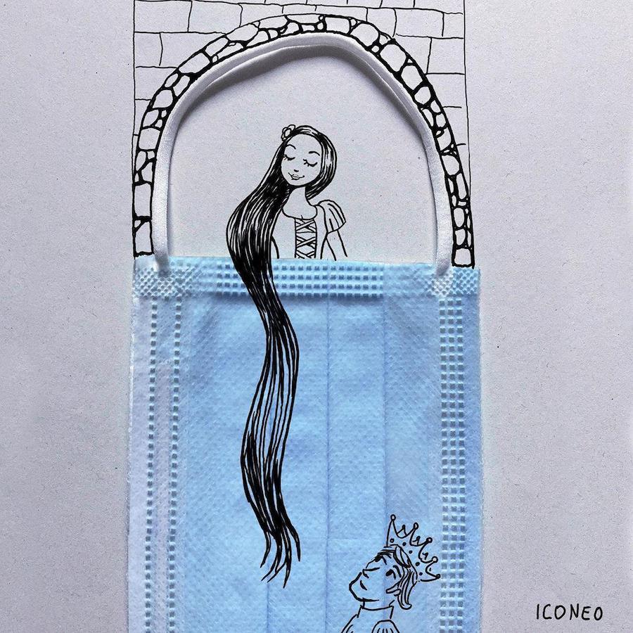 German-Artist-Creates-COVID-19-Themed-Art-2