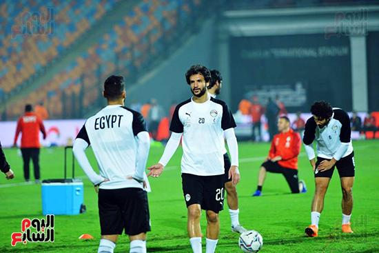 تدريبات المنتخب المصرى (7)