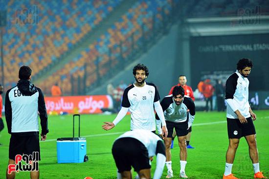 تدريبات المنتخب المصرى (8)