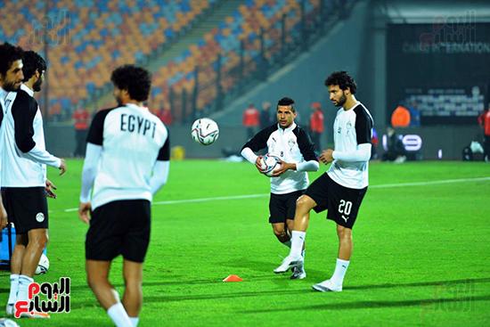 تدريبات المنتخب المصرى (20)