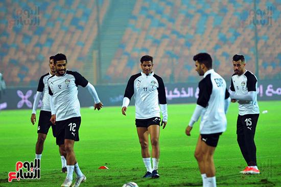 تدريبات المنتخب المصرى (11)