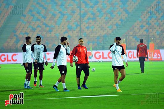 تدريبات المنتخب المصرى (5)