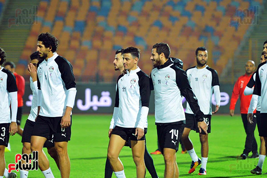 تدريبات المنتخب المصرى (30)