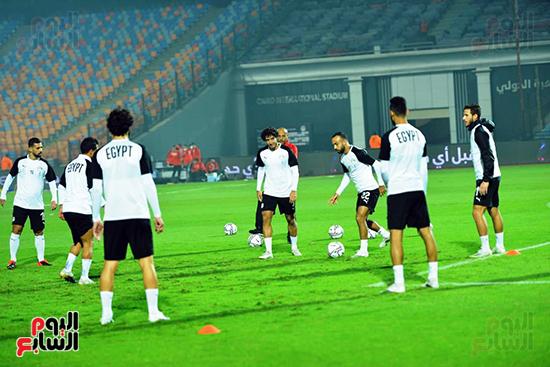 تدريبات المنتخب المصرى (14)