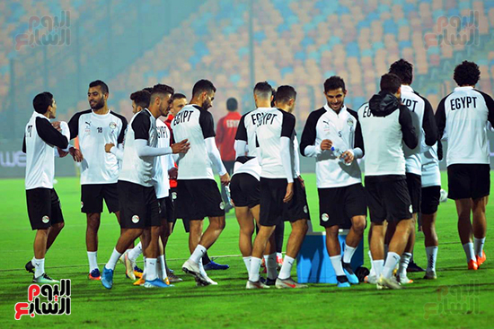 تدريبات المنتخب المصرى (6)
