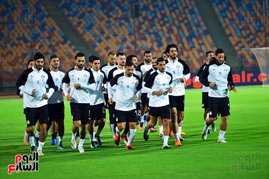 تدريبات المنتخب المصرى (36)
