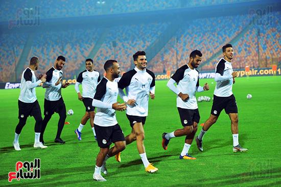 تدريبات المنتخب المصرى (40)