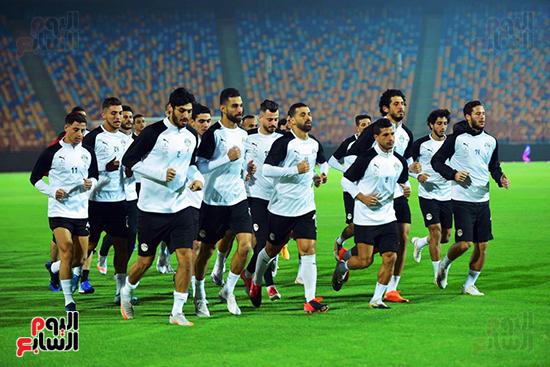 تدريبات المنتخب المصرى (32)