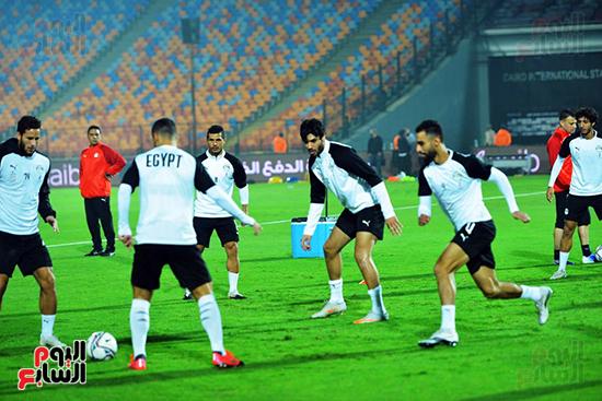 تدريبات المنتخب المصرى (17)