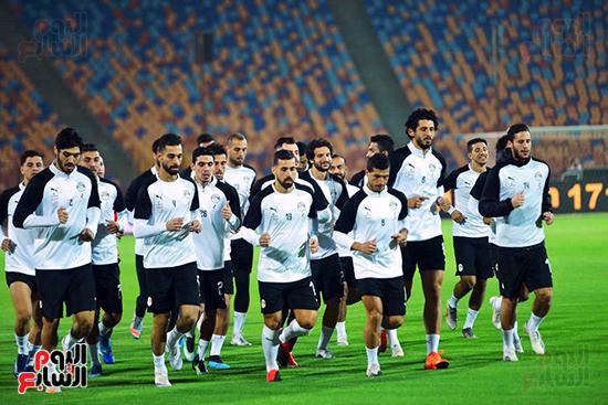 تدريبات المنتخب المصرى (35)