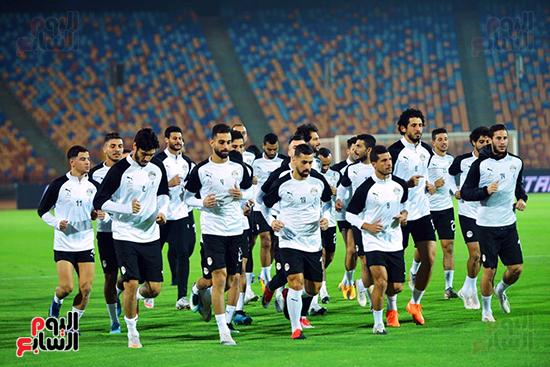 تدريبات المنتخب المصرى (34)