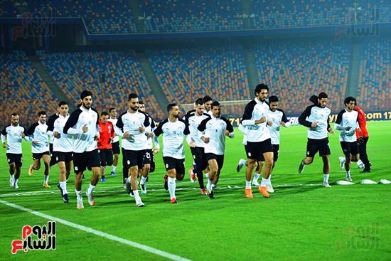 تدريبات المنتخب المصرى (38)