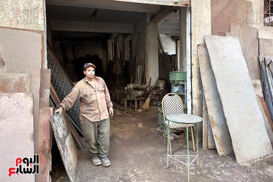 شيماء احدى العاملين مع نادى السباعى (3)