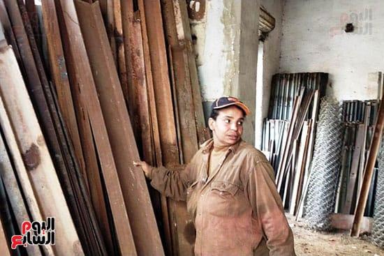 شيماء احدى العاملين مع نادى السباعى (2)