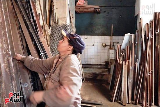 شيماء احدى العاملين مع نادى السباعى (1)