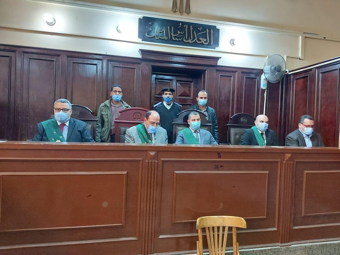هيئة محكمة جنايات الاسماعيلية