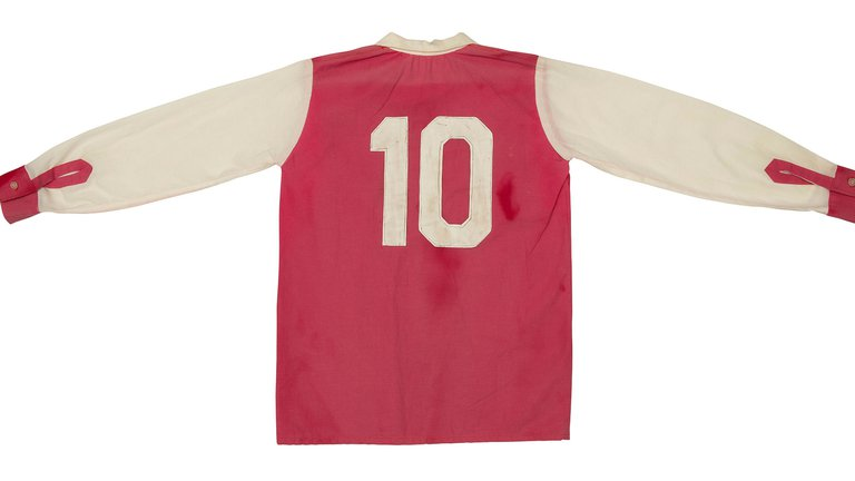 One of Maradona's shirts