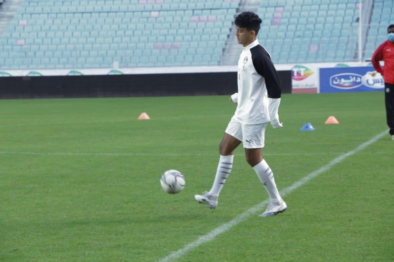 تدريب منتخب الشباب فى تونس