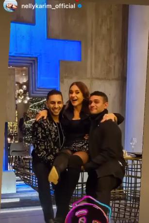 آسر ياسين ونيللى كريم