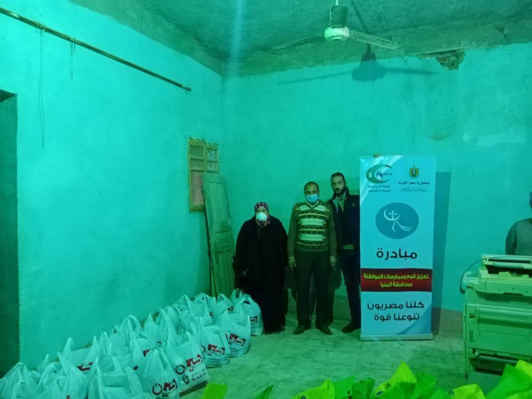 فعاليات تعزيز المواطنة بقرية البرشا (1)