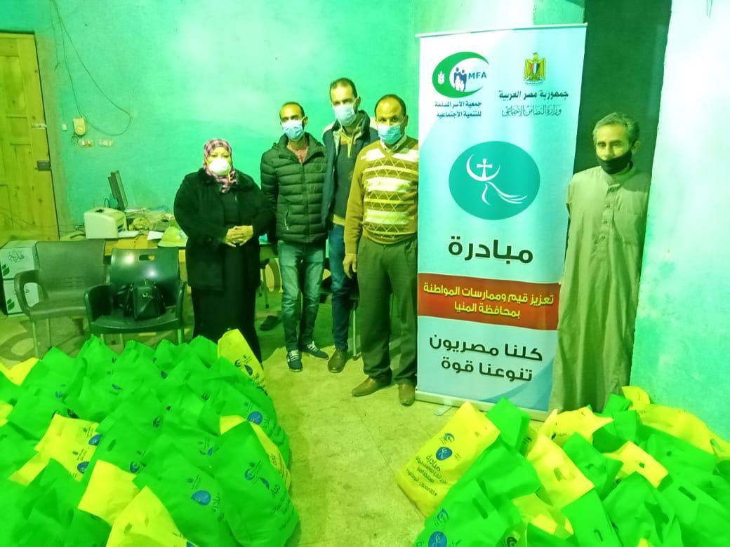 فعاليات تعزيز المواطنة بقرية البرشا (2)