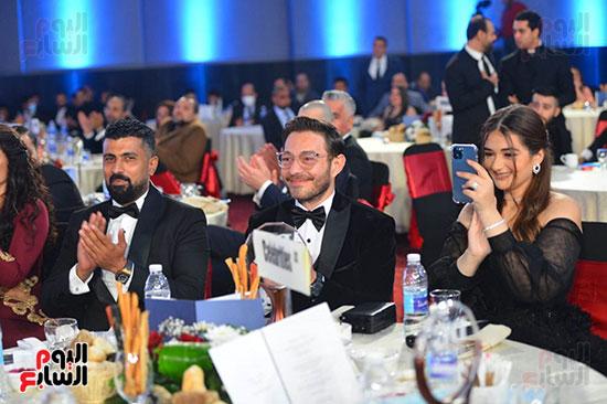 احمد زاهر وابنته ومحمد سامى